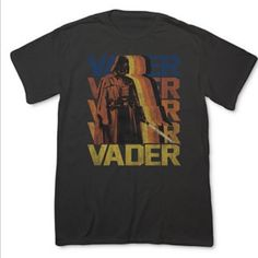 Star Wars Darth Vader Another Face T-Shirt From Fifth Sun, this Star Wars Another Face T-shirt features a retro-inspired graphic print of Darth Vader and a comfortable, classic fit. Crew neck. Short sleeves. Graphic print at front Cotton. Machine washable. Imported. Men's sizing or women's XL. No trade or pp Star Wars Tops Tees - Short Sleeve