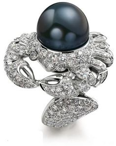 Cartier Twelve Constellation Series Diamond Rings - Cancer