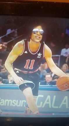 Prince playing basketball?? i love it!!