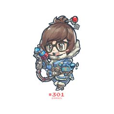 #301 - Mei, Jr Pencil on ArtStation at https://www.artstation.com/artwork/85RZx