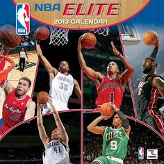 NBA Elite 2013 Wall Calendar