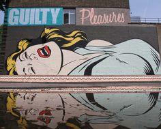 Street Art - D-Face _ Londres