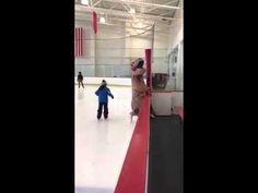 T Rex Ice Skating