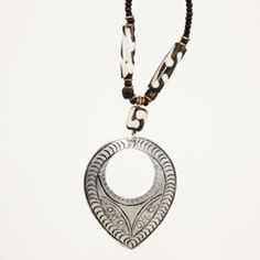 The Rafiki Exchange - Etched Metal Necklace