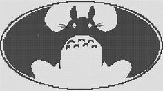 (10) Name: 'Embroidery : Batoro cross stitch pattern totoro