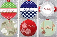 GroopDealz | Personalized Ornaments by spot light mirrors
