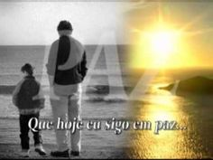 Pai, Fábio Júnior. father  It may be that here some time  There is time for us to be more  Much more than two great friends  Father and son .. maybe