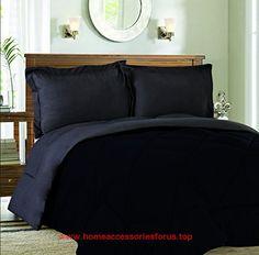 Sweet Home Collection 3 Piece Reversible Down Alternative Comforter Set with Euro Pillow Shams, King, Black/Gray BUY NOW     $35.00    100percentpolyestermicrofibercomforterfeaturesdualreversiblecolors.includescomforterandmatc ..  http://www.homeaccessoriesforus.top/2017/03/09/sweet-home-collection-3-piece-reversible-down-alternative-comforter-set-with-euro-pillow-shams-king-blackgray/