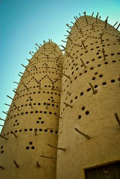 Katara Cultural Village, Doha, Qatar, Pigeon Towers
