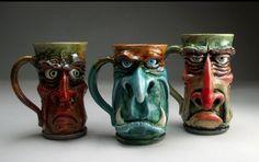 Grafton Pottery mugs