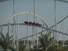 The Worlds Best Roller-Coasters Formula Rossa For those with a need for speed, the Formula Rossa at Ferrari World in Abu Dhabi is the world's fastest coaster with a top speed of 240 km/h (150 mph) reached in just under 5 seconds. Those daring enough to tackle this wild coaster must don safety goggles to shield their eyes from insects and other debris, while being whipped through the air.