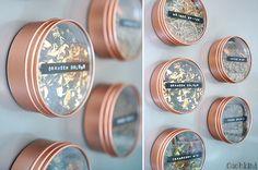 Ikea-Hack Magnetdosen: vielleicht für Büroklammern und ähnlichem