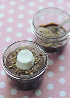 Gluten Free, Dairy Free...Smores pudding, it's pretty healthy and easy to make!  Win win!!