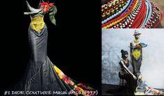 John Galliano Masai collection '97