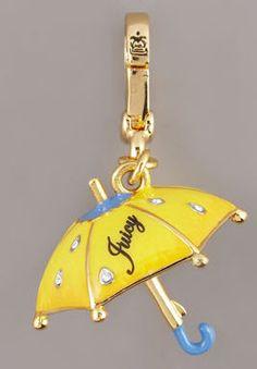 Juicy umbrella charm