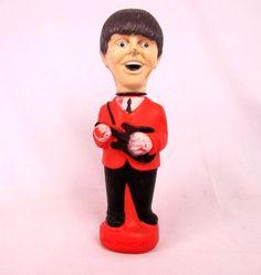 Vtg 1965 The Beatles Paul McCartney Soaky Colgate Palmolive Soap Bottle NEMS