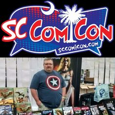 Next weekend, I return to the amazing SC Comicon in Greenville, SC. I'll be set up at Table 618 in Artist Alley.  SC Comicon runs March 25 - 26, 2017 at the TD Convention Center in Greenville, SC.Get all the information on this event athttp://sccomicon.comandwww.facebook.com/SCComicon