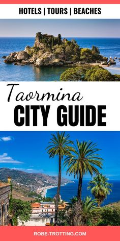 Click here to learn about planning the ultimate trip to Taormina, Sicily. See the best beaches in Sicily like Isola Bella and tour Mount Etna. Find out the best day trips from Taormina and the best hotels and restaurants #Sicily #Taormina #ItalyTravel #IsolaBella