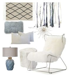 Winter Wonderland by celine-eden on Polyvore featuring polyvore, interior, interiors, interior design, home, home decor, interior decorating, Mitchell Gold + Bob Williams, Serena & Lily and Uttermost