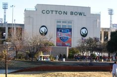 Cotton Bowl Preview: Texas A vs Oklahoma..granddaughter find...on her way