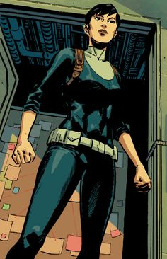Maria Hill was the director of S. after Nick Fury went awol. She now supervises the Avengers on behalf of Steve Rogers. Maria Hill, Nick Fury, Hero Girl, Steve Rogers, Marvel Universe, Vines, Avengers, Disney Characters, Fictional Characters