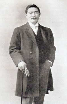Mitsuyo Maeda (ca. 1910) - basically the founder of Brazilian jiu-jitsu