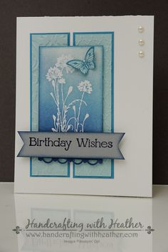 Serene Silhouettes Birthday Wishes by hvanlooy - Cards and Paper Crafts at Splitcoaststampers