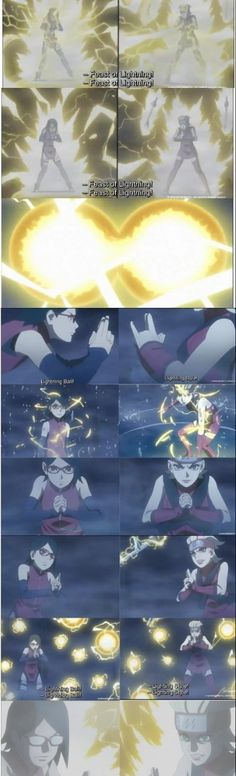 SARADA VS BUNTAN - Epic Fight ❤️ Lighting Release confirmed ❤️ One of the New 7 Swordsmen of The Mist was beaten by Sarada's Sharingan ❤️ Boruto Episode 30 ❤️❤️❤️