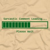 Work Quote : Sarcastic Comment Loading