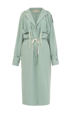 Trench Coat Outfit For Spring - FashionActivation Hijab Fashion, Fashion Dresses, Fashion Coat, Olive Style, Coatdress, Trench Coat Outfit, Trench Coats, Modele Hijab, Summer Coats