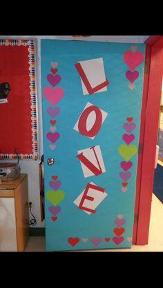 Valentine Day Classroom Door