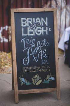 20 Amazing DIY Wedding Ideas ❤ diy wedding ideas chalkboard wedding sign #weddingforward #wedding #bride