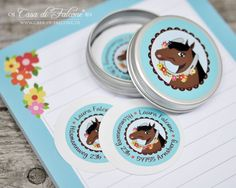 Schulanfang Starter-Set Pferd I personalized sticker I Casa di Falcone