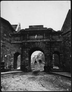 Porte du Palais, vers 1870