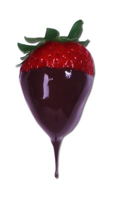Fitting in fruit. Treat yourself to pieces of fruit dipped in fine dark melted chocolate Chocolate Delight, I Love Chocolate, Chocolate Dreams, Melted Chocolate, Healthy Chocolate, Strawberry Dip, Strawberry Fields, Chocolate Benefits, Chocolate Pictures