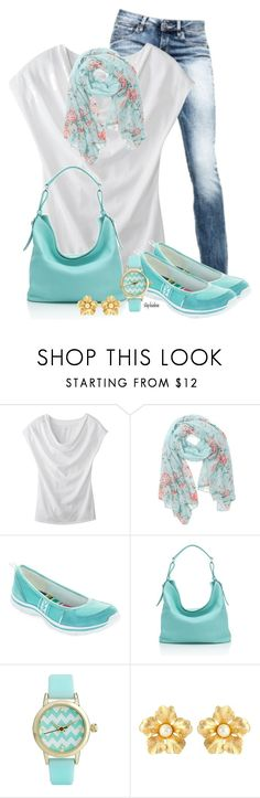 """Scarf & Tee"" by stephiebees ❤ liked on Polyvore featuring G-Star, Merona, With Love From CA, Anne Klein, HOBO, ASOS and Susan Caplan Vintage"