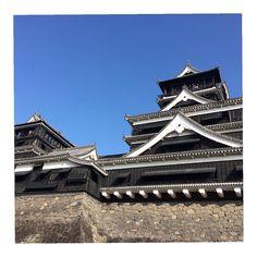 雲ひとつない青空 #熊本 #熊本城 #KumamotoCastle #Kumamoto #Castle by my15214