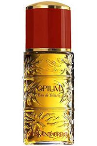 Opium by Yves Saint Laurent -- I wear this perfume in the winter and have been wearing this since the mid-80s