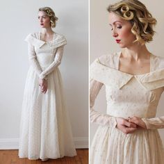 6 Beautiful Wedding Dress Trends in 2020 Bridal Skirts, Bridal Gowns, Wedding Gowns, Kate Middleton, Polka Dot Wedding Dress, Full Gown, Types Of Gowns, Traditional Gowns, Bridal Cape