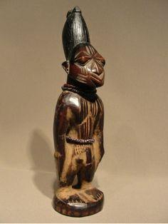 Yoruba Ere Ibeji (Twin Figure), Igbomina - Ijara, Nigeria