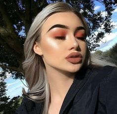 Makeuphall: The Internet`s best makeup, fashion and beauty pics are here. Makeup On Fleek, Flawless Makeup, Cute Makeup, Gorgeous Makeup, Pretty Makeup, Skin Makeup, Makeup Goals, Makeup Inspo, Makeup Inspiration