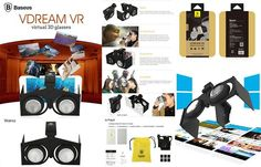 An awesome Virtual Reality pic! Baseus Vdream VR 3D Glasses (Kacamata 3D yang di design untuk merasakan sensasi film 3D & Video Game dengan berbasis 3D Virtual Reality melalui smartphone anda.) PENASARAN !!!   Rp.215.000-   100% Produk Asli ... !!!   Order & Info :  Whatsapp - 0857.2135.1090  Line - csLogayPektay  BBM - 5ECED9B1  Official Website : LogayPektay.com  #logaypektay #logaypektayacc #logaypektayvr #vr #virtualreality #jualvr #jualvrmurah #vrindonesia #kacamata3d #cheapvr…
