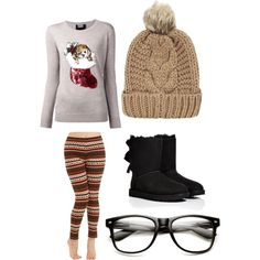A fashion look from December 2014 featuring Markus Lupfer sweaters and UGG Australia boots. Browse and shop related looks.