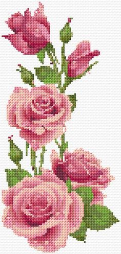 Embroidery Kit 2421...thinking of something like this for a thigh tattoo
