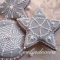 Pearl Xmas cookies | Cookie Connection