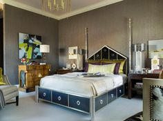 art deco bedroom 10 Hot Trends for Adding Art Deco into your Interiors