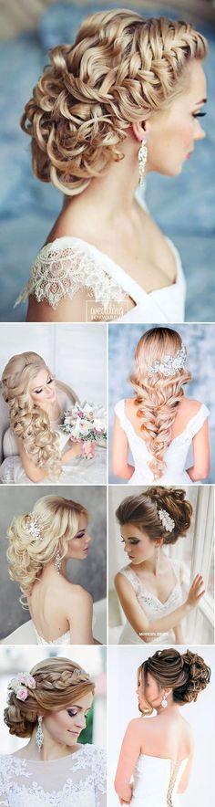 33 Stunning Summer Wedding Hairstyles ❤ See more: http://www.weddingforward.com/summer-wedding-hairstyles/ #weddings #hairstyles #weddinghairstyles