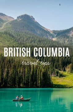 When you travel to British Columbia, you'd have to rely on superlative words to… Travel Destinations, Travel Tips, Travel Ideas, Travel Inspiration, Travel Around The World, Around The Worlds, Vancouver City, Canada National Parks, My Road Trip
