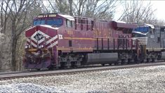 Norfolk Southern the Lehigh Valley Heritage Unit is leading 214 from Atlanta, Georgia to Rutherford, Pennsylvania. This train is stopping for its crew change. Mostly Sunny, Norfolk Southern, Lehigh Valley, Trains, The Unit, Videos, Youtube, Youtubers