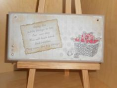 Craftwork cards plaque